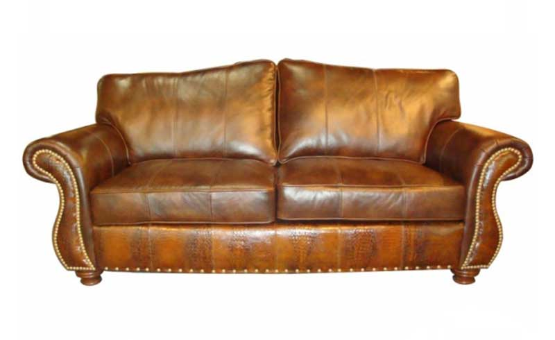 Romney Chair Bryant Leather By Homestead Furniture