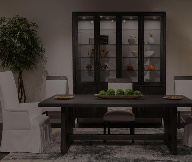 Remarkable Amish Hardwood Dining Room Furniture Homestead Furniture Creativecarmelina Interior Chair Design Creativecarmelinacom
