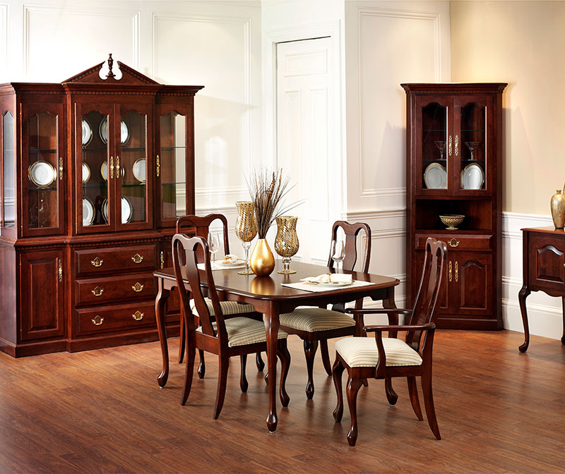 Strange Queen Anne Dining Chairs Homestead Furniture Dailytribune Chair Design For Home Dailytribuneorg