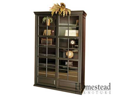 Cheswkye Sliding Door Bookcase